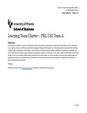PHL 320 Learning Team A Charter (1).docx