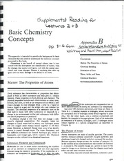 Basic Chemistry Concepts-2