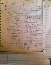 MATH 08000 Notes on Differential Equations