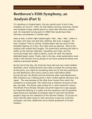 Beethoven's Fifth Symphony, an Analysis (Part 1) transcript