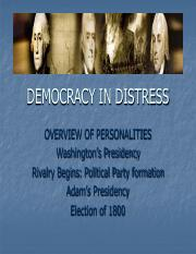Democracy in Distress (powerpoint)