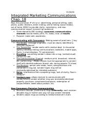 Integrated Marketing Communications Chap.docx