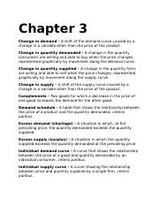Chapter 3 Terms