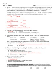 Acct 386 RAT Ch 12 and 18 Fall 2013 Solution