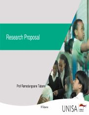 Research Proposal Writing significant of the studyHonours.pdf
