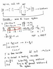 Lecture Notes, Sep. 23, Math 125