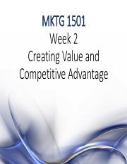 MKTG 1501 Week 02 Creating value stu 1 per page(1)