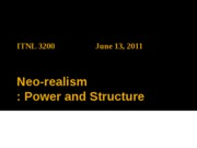 0613 Neo-realism_power and structure