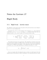 Lecture17-Rigid-Body
