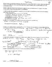 Exam 3 partial solutions