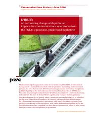 communication-review-ifrs-15-PWC