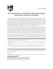 5. Do Soaring Price and Mounting Demand in Indian Gold... Case.pdf