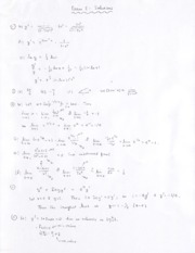 Math 11 - 2008 Fall - Exam 2 solutions