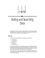 03 - Sorting and Seaching Data.pdf