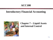 ACC100 Porter Chapter 7 Break Out