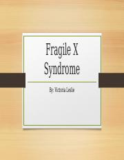 fragile x syndrome.pptx