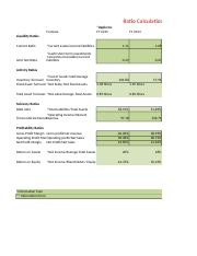 Module 08 Course Project- Ratio Analysis Calculations(Apple Inc and Microsoft Corp).xlsx