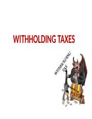 WITHHOLDING TAXES.pptx