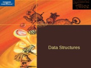 ch 8 Introduction to Data Structures
