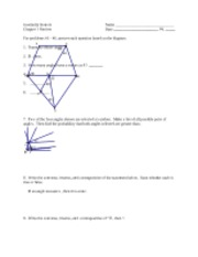 GeometryHonors-Chapter1Review