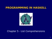 Haskell chapter5