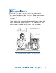 Learn About Diabetes PDF