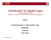 10. Combinational vs. Sequential, Bistables, Latches, Flip Flops.pdf