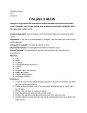ALD Chapter 3