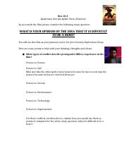 Spiderman - Into the Spider-Verse Film Sheet.docx