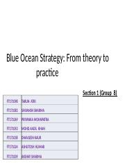Section 1_Group8_Blue Ocean Strategy.pptx