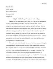 GOV312L Take Home Essay