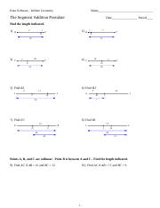 the Angle Addition Postulate