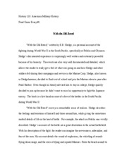 American Military History Essay