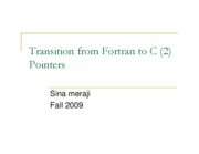 (15) Fortran To C (Sina)
