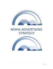 NOKIA ADVERTISING STRATEGY