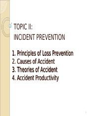 3 Loss Prevention Theory of Accident (1)
