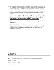the ground floor critical thinking essay memo to howard critical thinking essay 3 2 pages memo