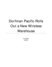 Dorfman Pacific Rolls Out a New Wireless Warehouse