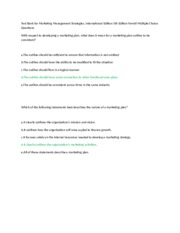 Test Bank for Marketing Management Strategies 6.doc
