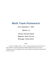 umich math 116 web homework