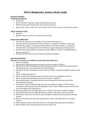 AP151--STUDY GUIDE 8.....Respiratory System Study Guide.docx