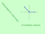 Trig Funct of Gen Angles