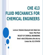CHE 413 C1 Introduction to fluid mechanics.ppt