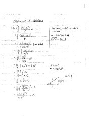 MORE ON INTEGRALS - ASSIGNMENT 8