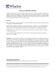 2014-611-A Note on Contribution Analysis - FINAL (1)