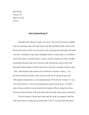 First Version of Essay#3