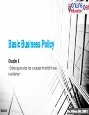 MBA106 Chapter 1 Basic Business Policy.pdf