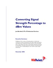 Converting_Signal_Strength to RSSI