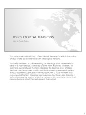 IdeologicalTensions