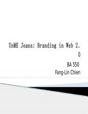 Sample_ 2 UnME jeans Fang-Lin Chien.pptx